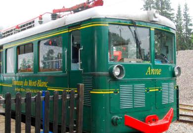 Трамвай du mont blanc